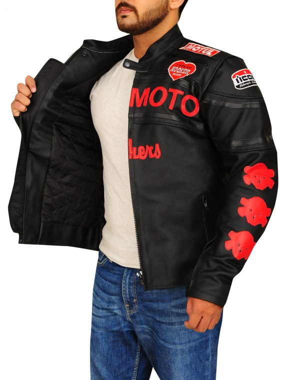 Cherry Darling Planet Terror Biker Men Jacket