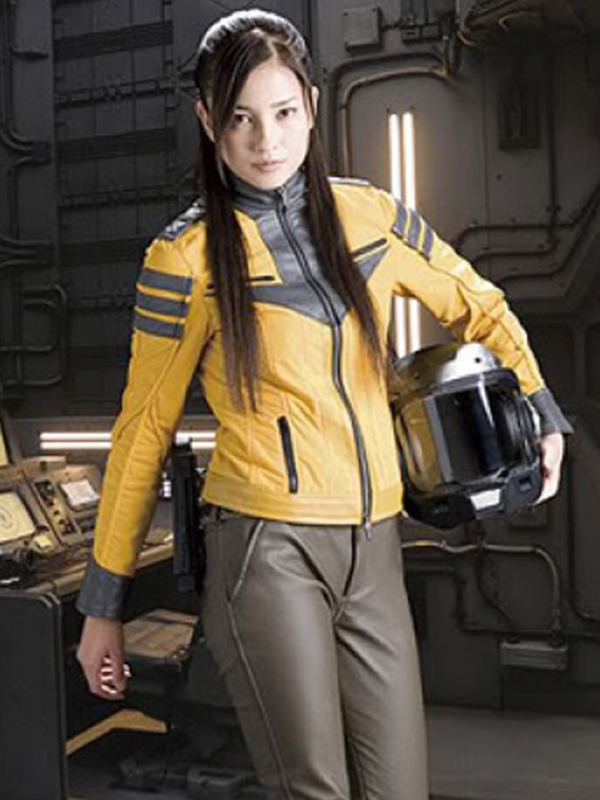 Cosplay Space Battleship Yamato Leather Jacket