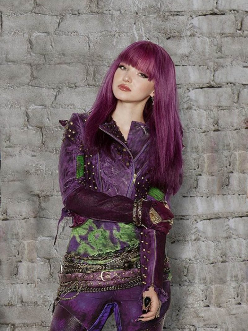 Dove Cameron Descendants 2 Mal Leather Jacket