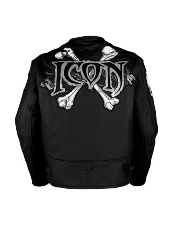 Icon Motorhead Skull Motorcycle Jacket