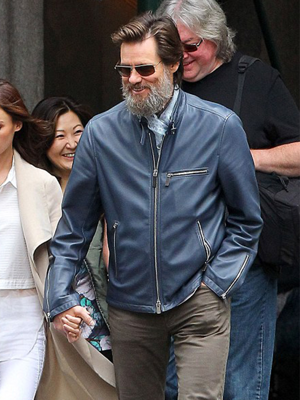 Jim Carrey New York Jacket