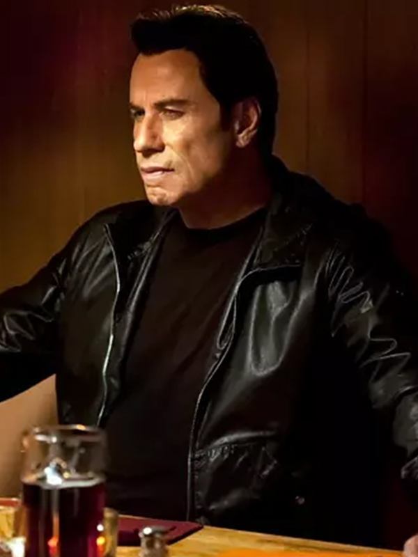 John Travolta, Black Jacket, Celebrity Jacket,