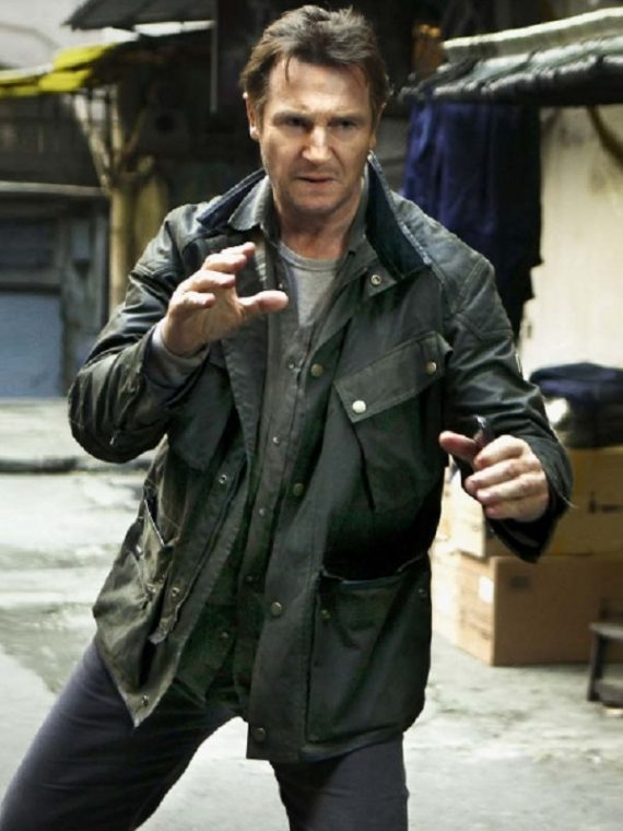 Liam Neeson Taken 3 Jacket