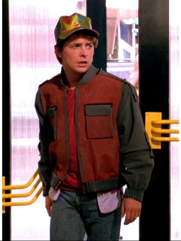 Marty Mcfly Back To The Future 2 Leather Jacket