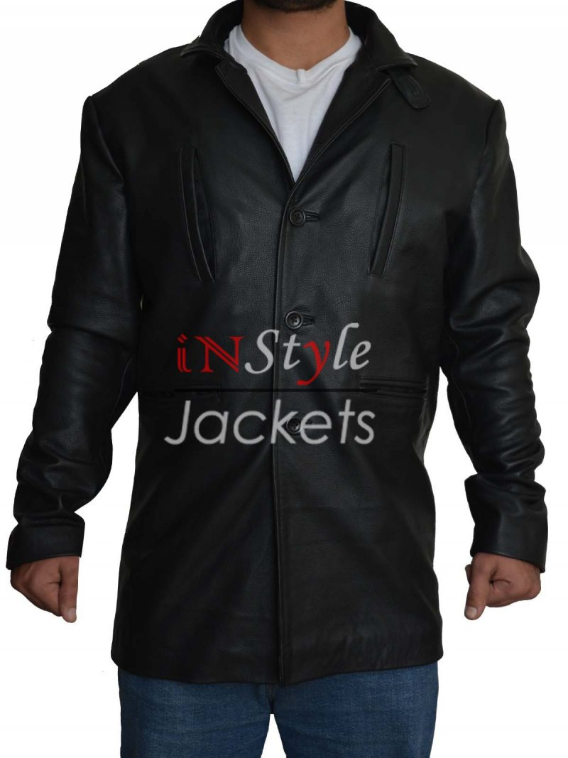 Max Payne Mark Wahlberg Black Jacket