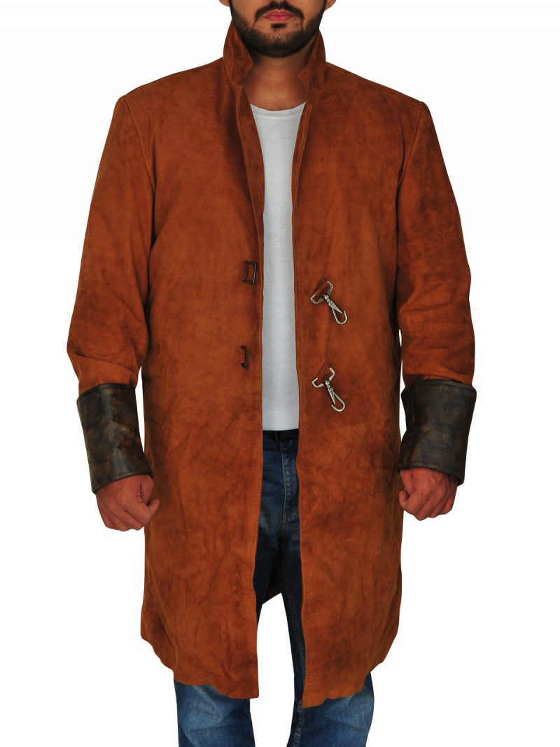 Nathan Fillion Firefly Captain Malcolm Coat,