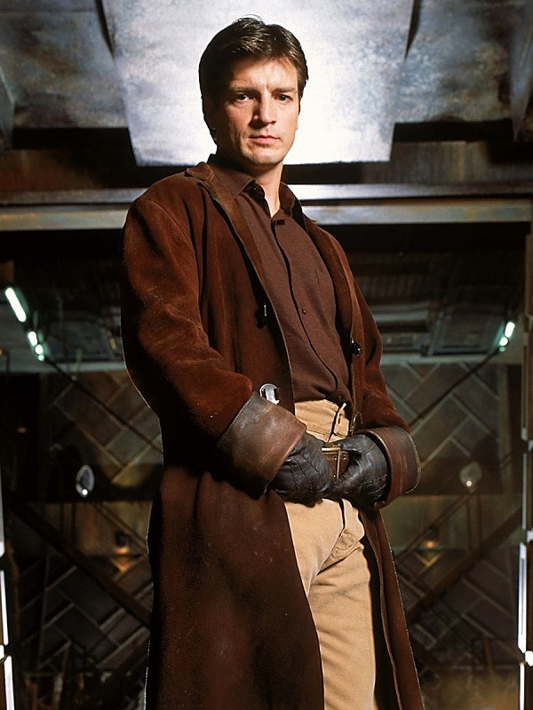 Nathan Fillion Firefly Coat
