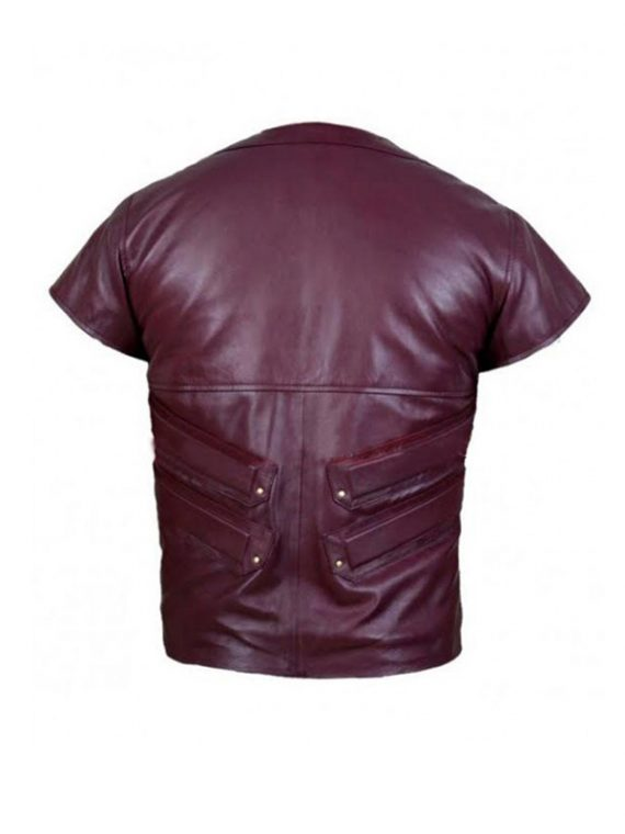 Robin Leather Vest