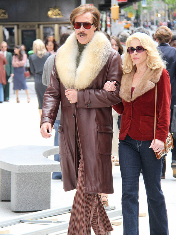 Anchorman 2 The Legend Continues Will Ferrell Coat