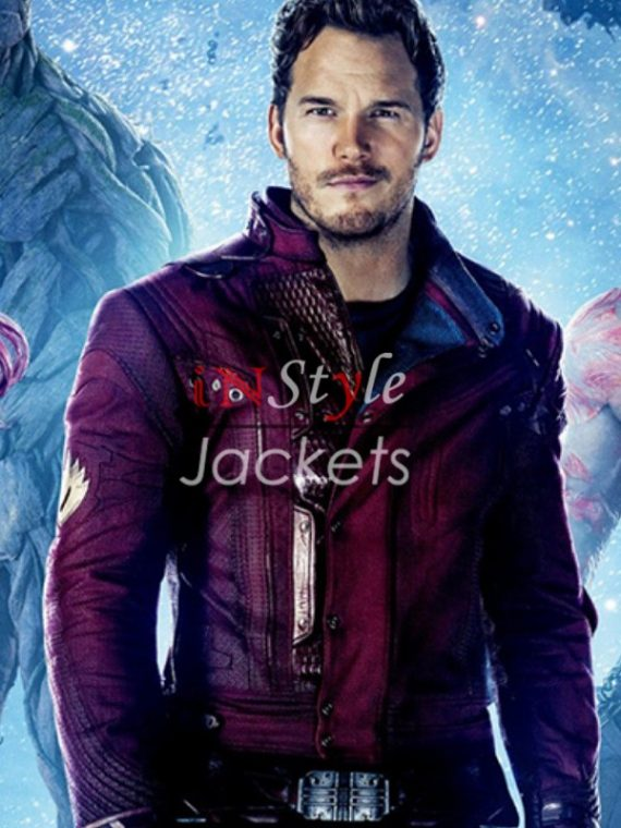Chris Pratt Guardian Of Galaxy Star Lord Jacket