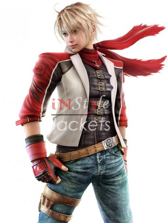 Leo Kliesen Tekken 6 Leather Jacket With Vest