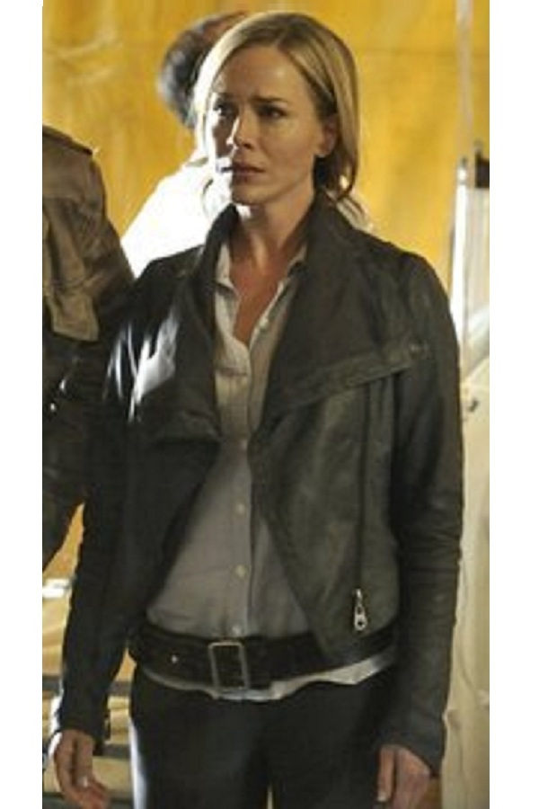 Action , Drama Defiance Mayor Amanda Rosewater leather Jacket