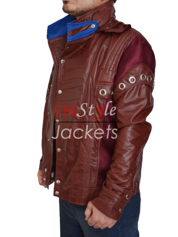 Star Lord Guardian Of Galaxy Red Jacket