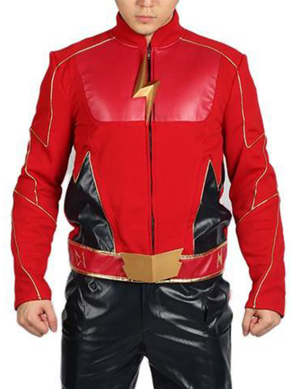 The Flash Jay Garrick Red Jacket