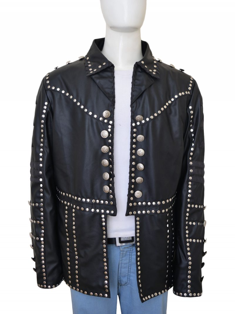The Miz Wrestler Leather Jacket
