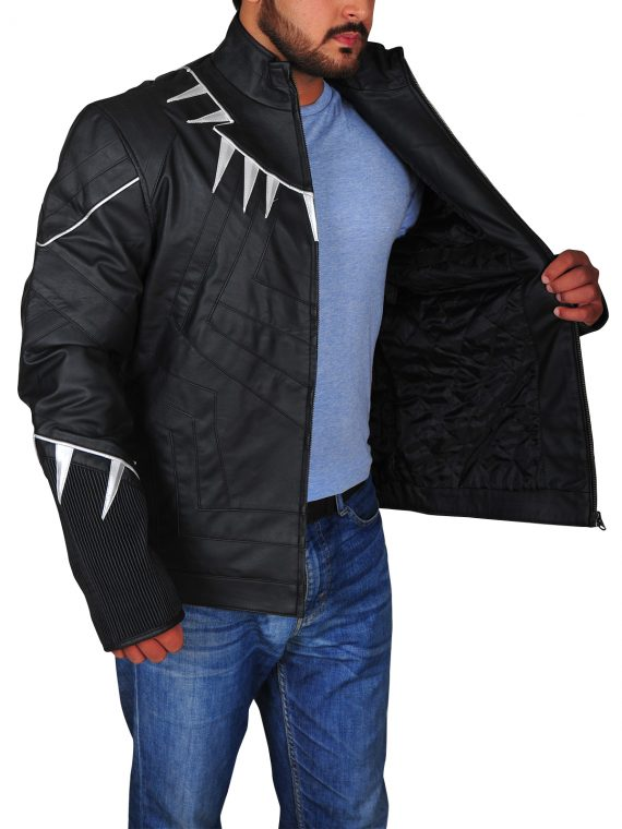 America Civil War Black Panther Jacket,