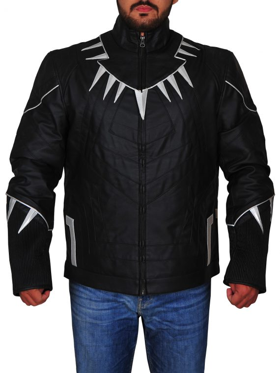 Captain America Civil War Black Jacket,