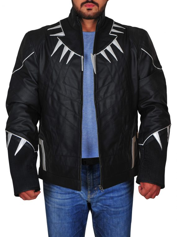 Captain America Civil War Black Panther Jacket,