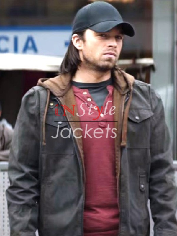 Captain America Civil War Sebastian Stan Jacket