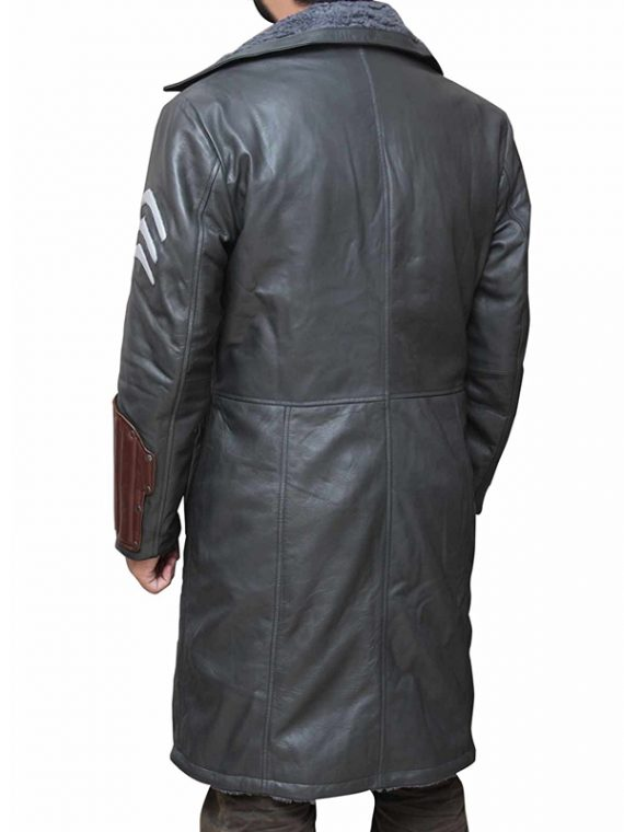 Captain Boomerang Suicide Squad Trench Coat