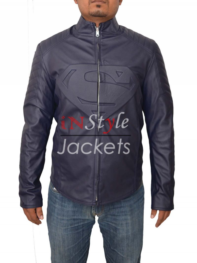 Dawn of Justice Reversible Leather Jacket
