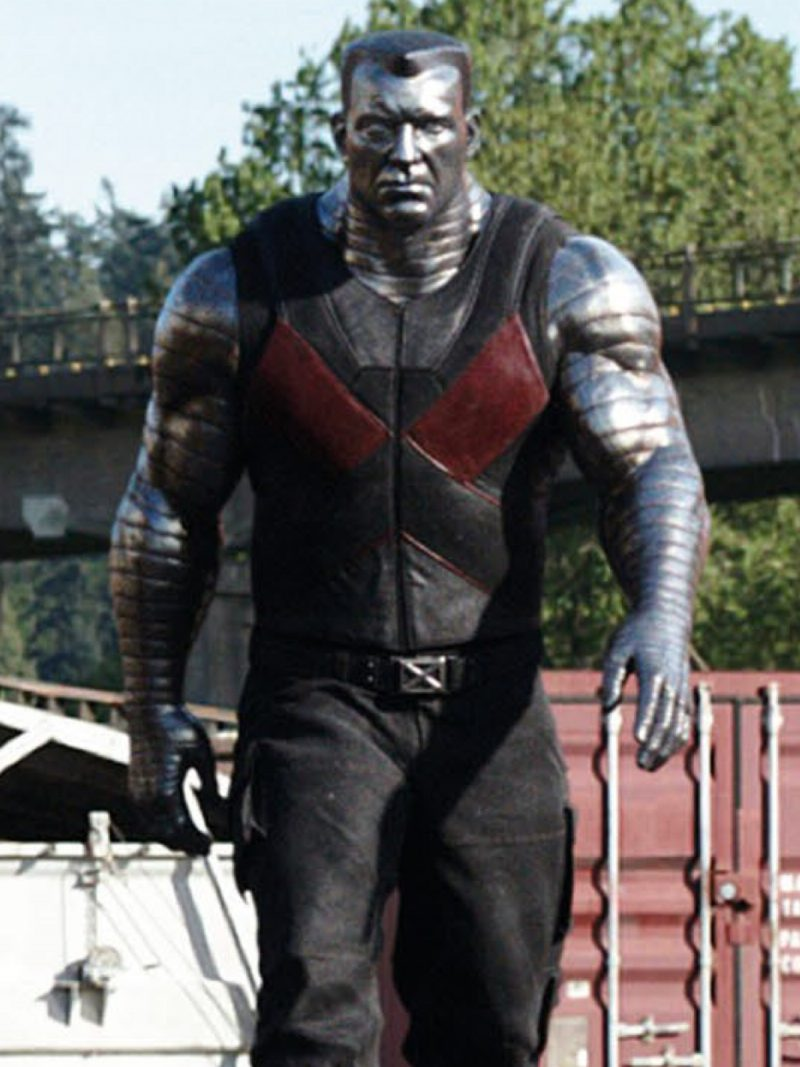 Deadpool, Colossus-Leather-Vest,