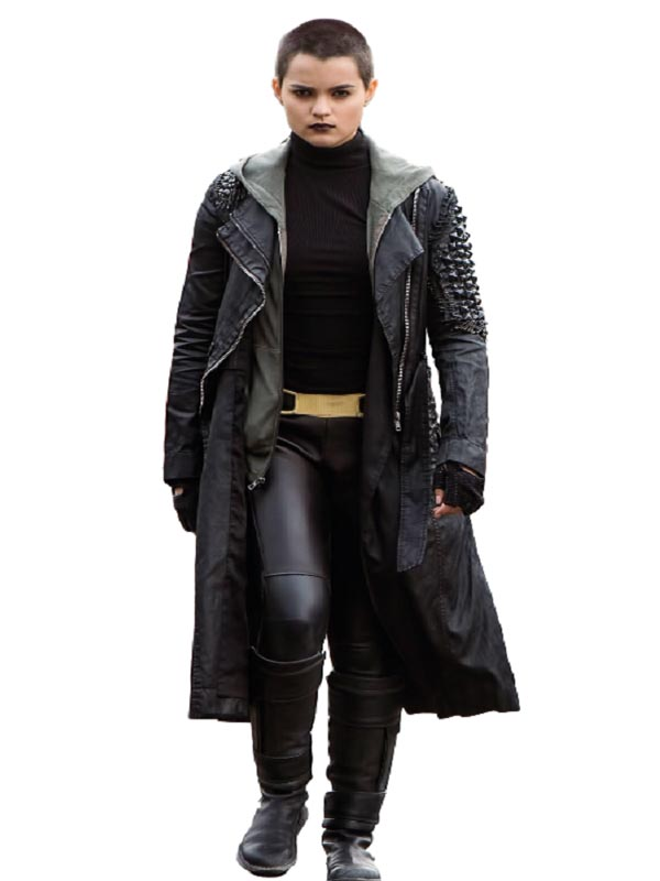 Gina Carano Deadpool Angel Dust Coat