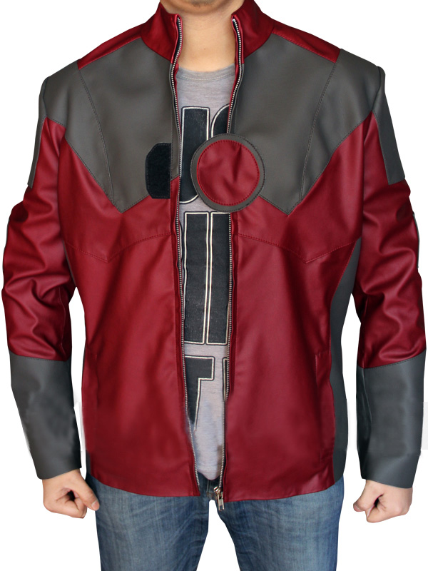 Iron Man Red Jacket