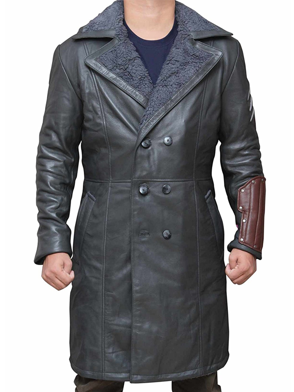 Jai Courtney Suicide Squad Leather Coat