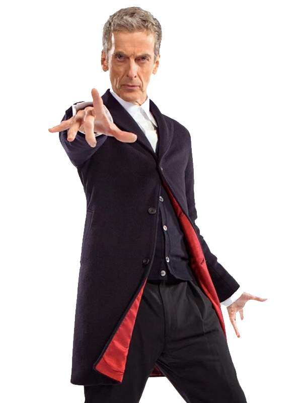 Peter Capaldi Doctor Who Coat