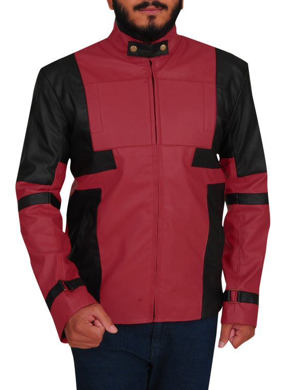 Ryan Reynolds Deadpool Red Jacket