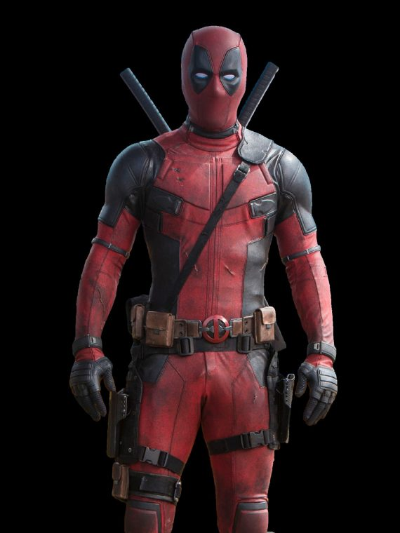 Ryan Reynolds Deadpool Red Leather Jacket