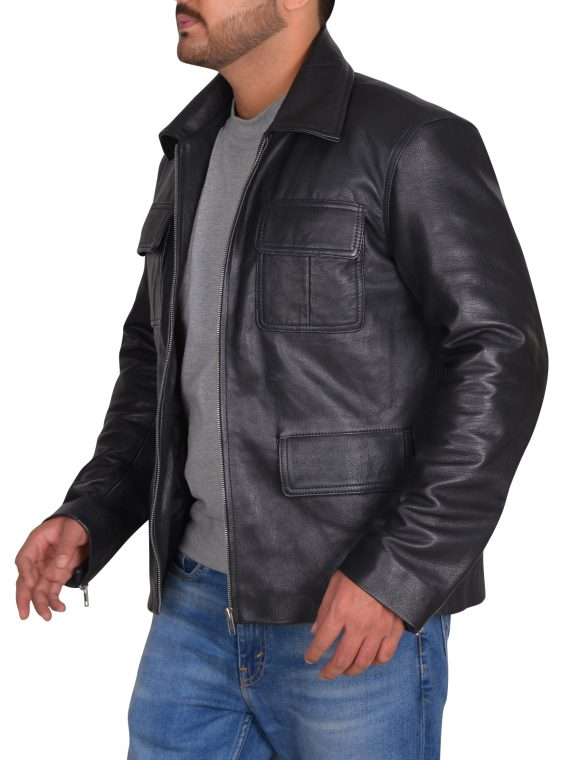 The Vampire Diaries 2 Leather Jacket