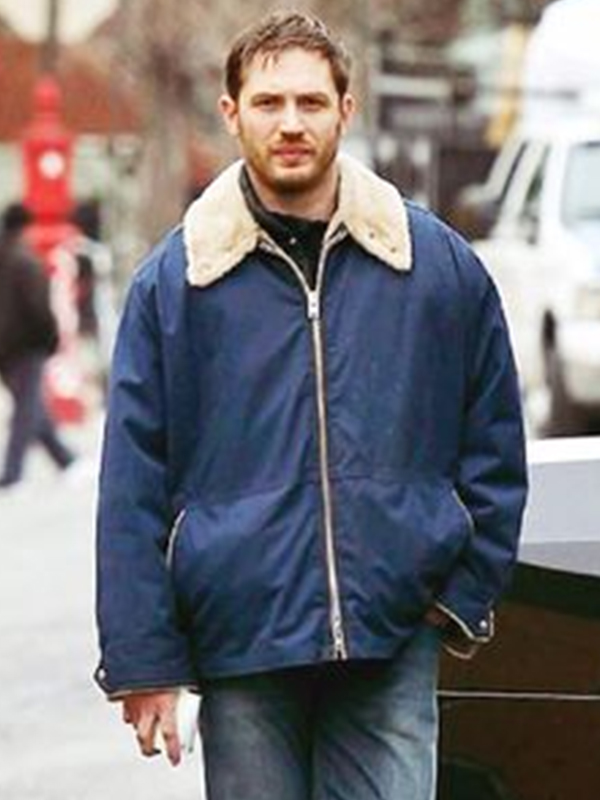 Tom Hardy, The Drop Jacket, Blue Jacket,