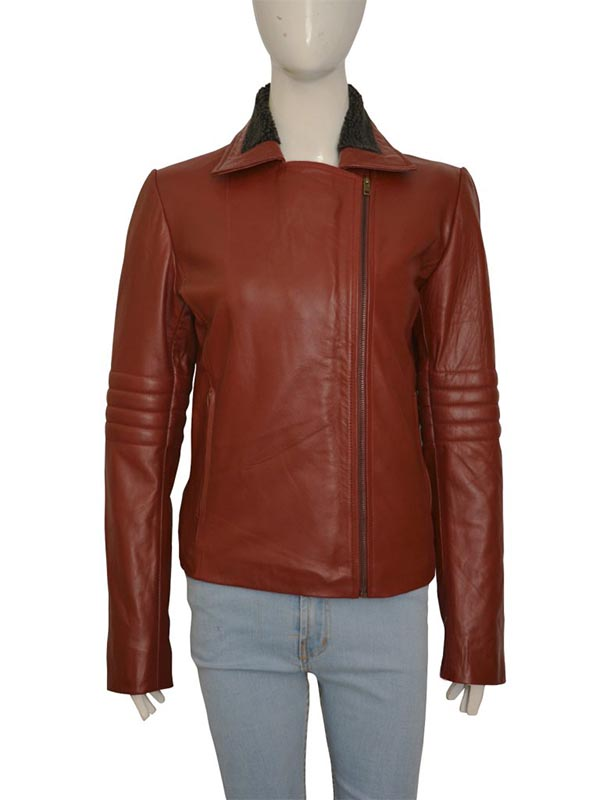 Ash vs Evil Dead Kelly Maxwell Leather Jacket