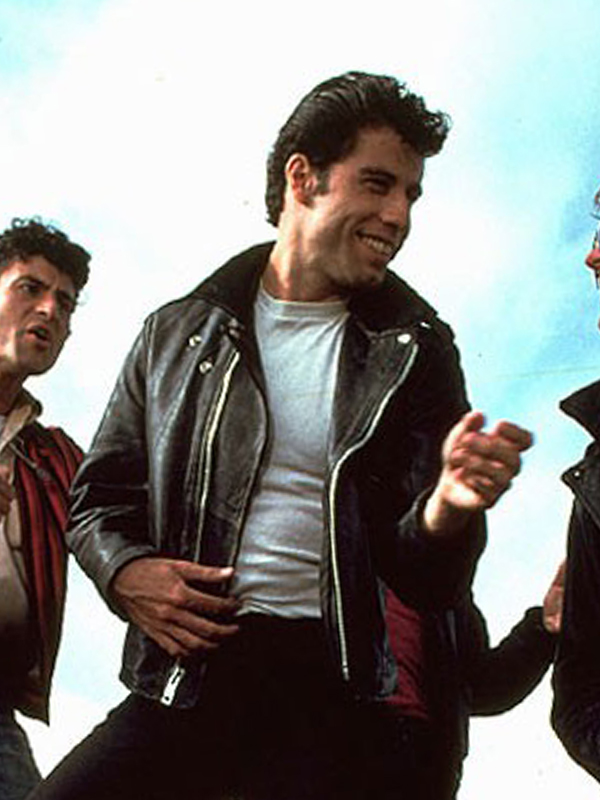 1978 Film Grease John Travolta T Bird Jacket
