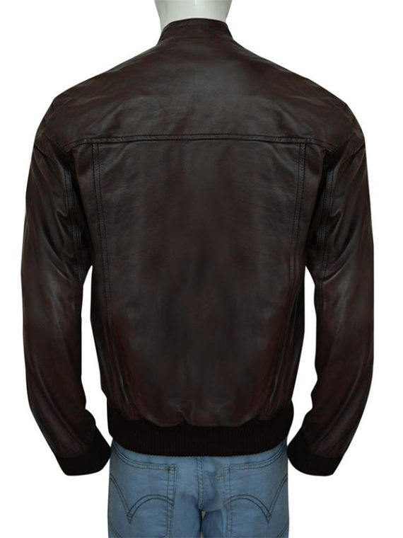 Justin Bieber Classy Brown Leather Jacket
