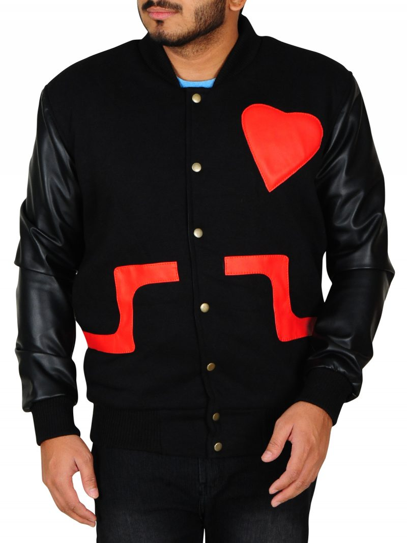 Love Not Hate Valentines Chris Brown Jacket,