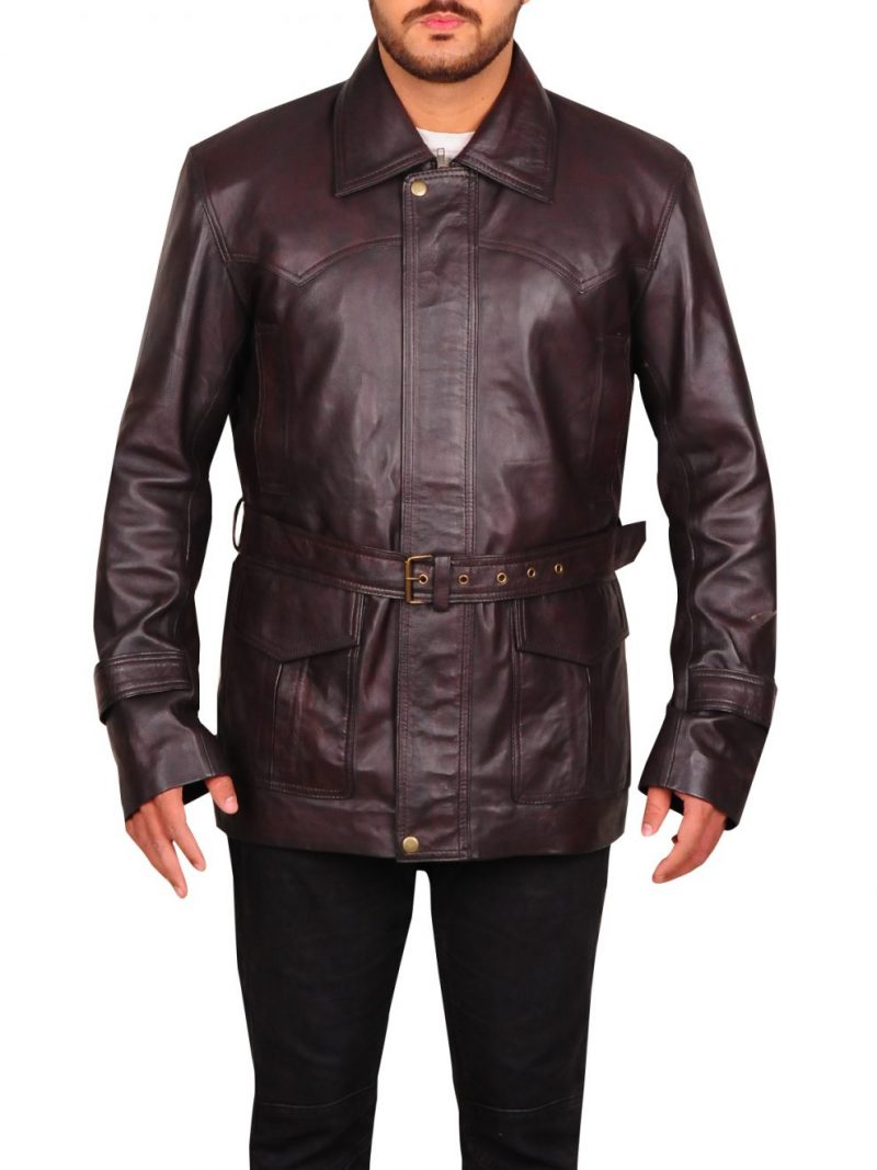 Pierce Brosnan Tomorrow Never Dies James Bond Leather Jacket,