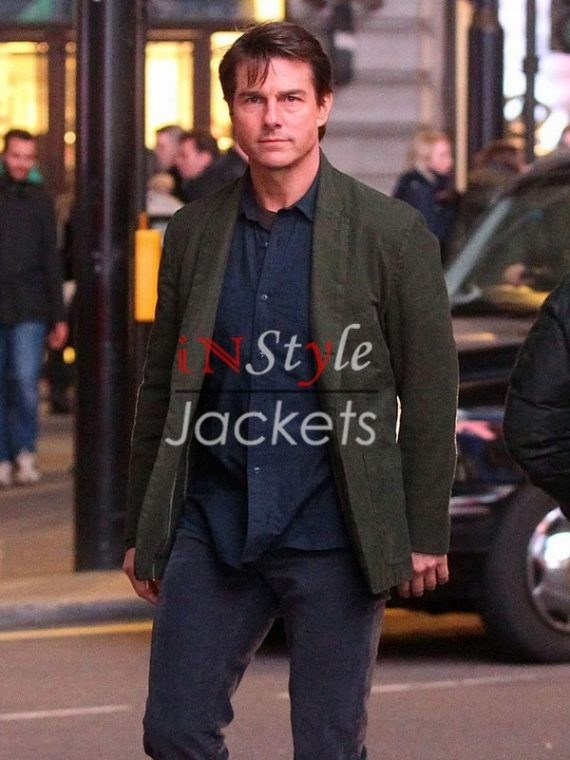 Tom Cruise Mission Impossible 5 Green Coat