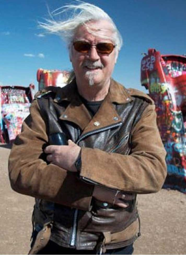 Billy Connolly Route 66 Black And Brown Jacket
