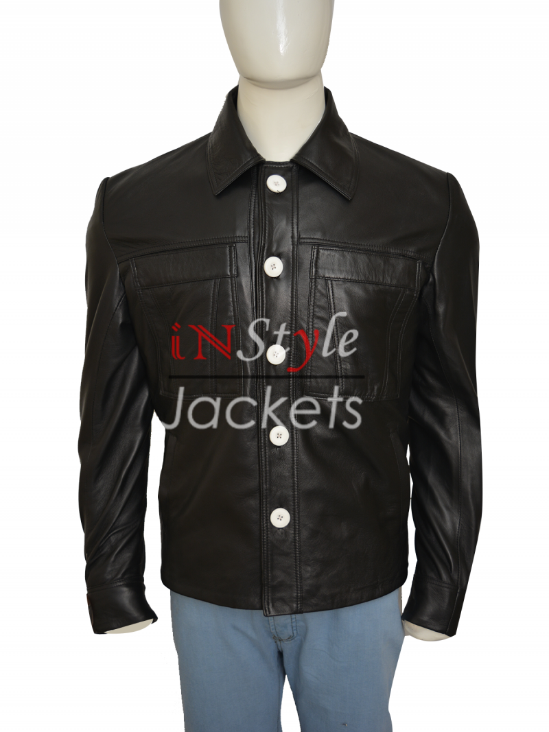 Bobby Cannavale Vinyl TV Series Leather Jacket