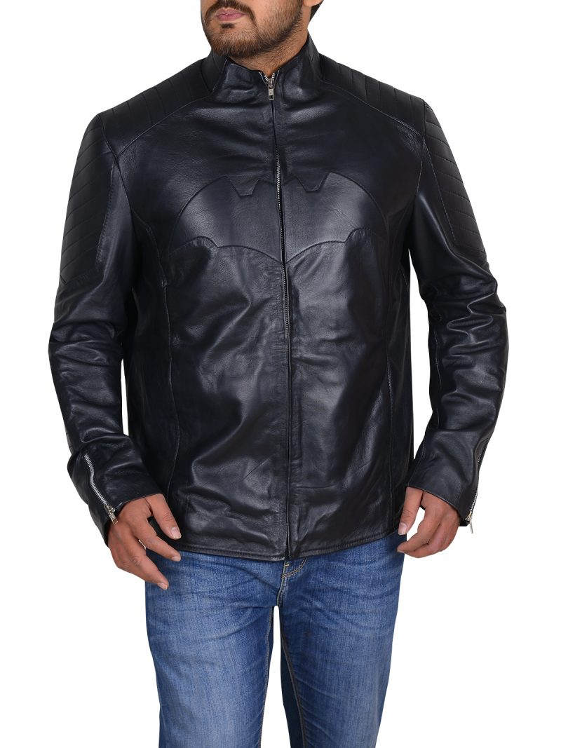 Conspicuous Christian Bale Batman Begins Jacket,