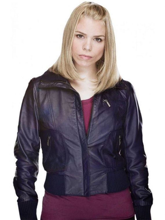 Doctor Who Rose Tyler Leather Jacket