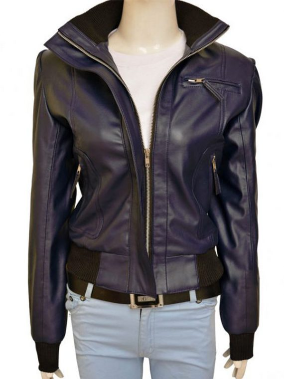 Doctor Who TV Rose Tyler Leather Jacket