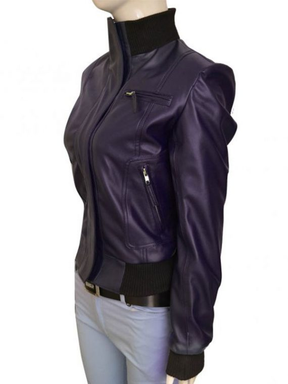 Doctor Who TV Series Rose Tyler Leather Jacket
