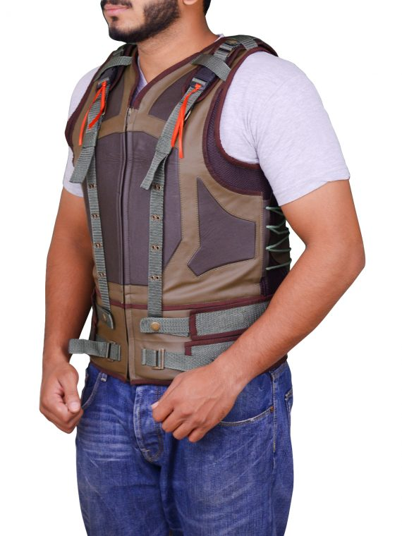 Movie The Dark Knight Rises Bane Leather Vest,