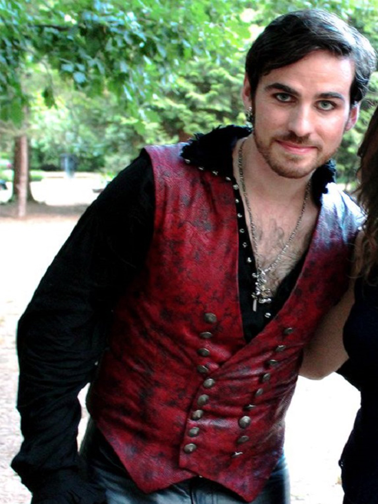 Once Upon A Time TV Series Captain Hook Vest