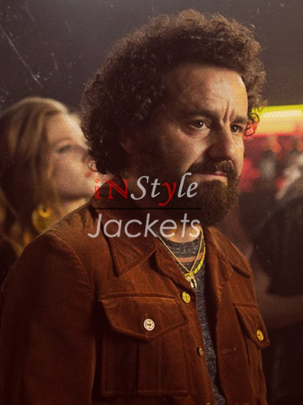 Vinyl TV Series Julie Silver Brown Leather Jacket