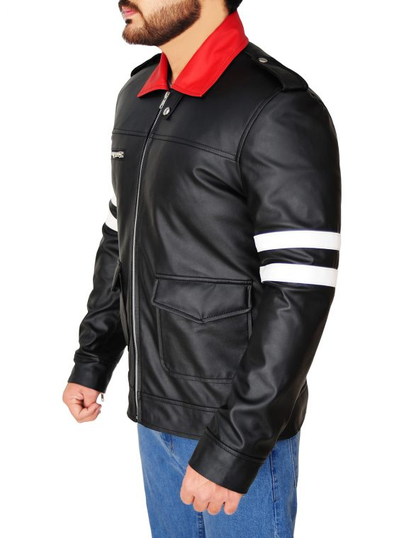 Alex Mercer Prototype Black Leather Jacket,